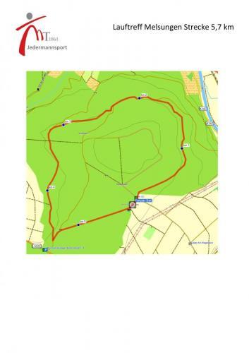 Laufrunde am Siebenstern 5,7 km