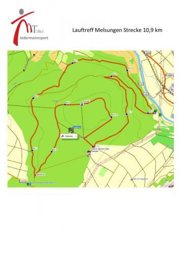 Laufrunde am Siebenstern 10 km