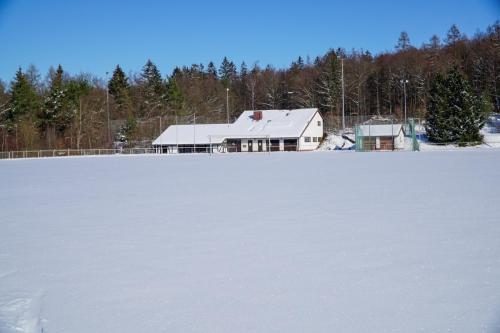 MT-Heim im Schnee